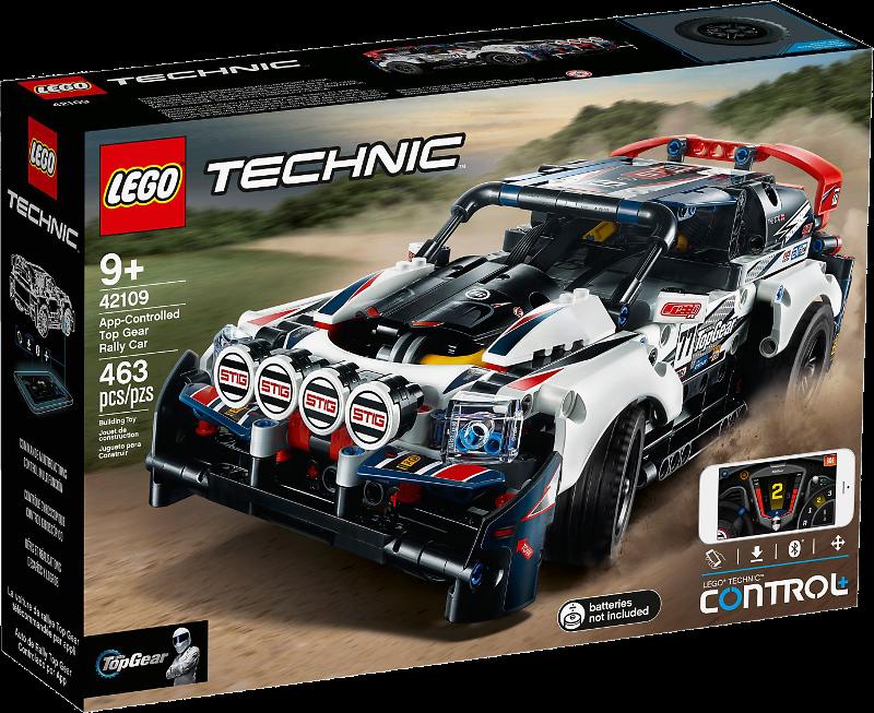 LEGO® Technic 42109 - Top-Gear Ralleyauto mit App-Steuerung