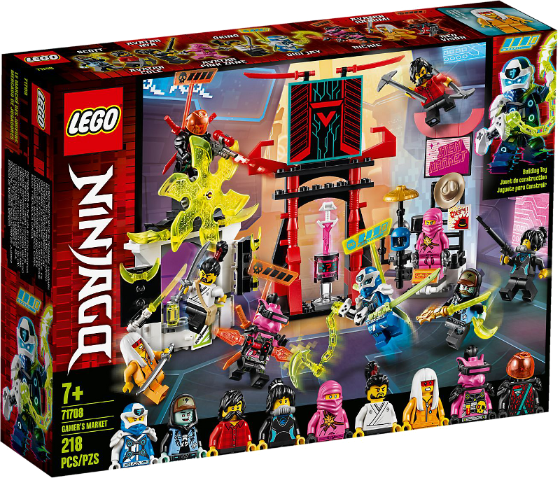 LEGO® NINJAGO® 71708 - Marktplatz