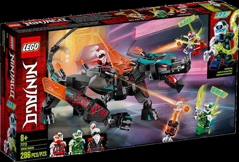 LEGO® NINJAGO® 71713 - Schwarzer Tempeldrache