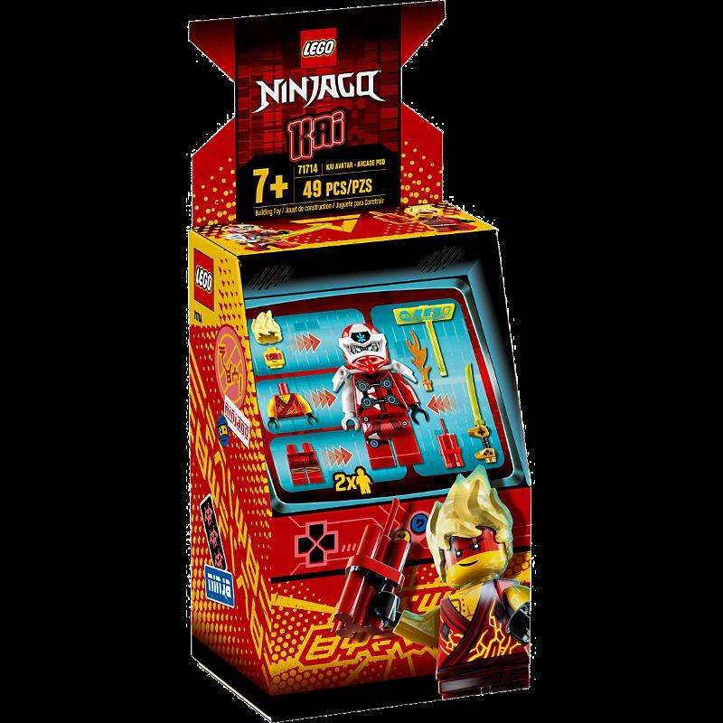 LEGO® NINJAGO® 71714 - Avatar Kai - Arcade Kapsel