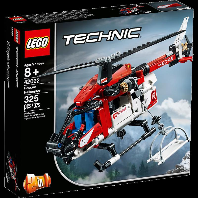 LEGO® Technic 42092 - Rettungshubschrauber