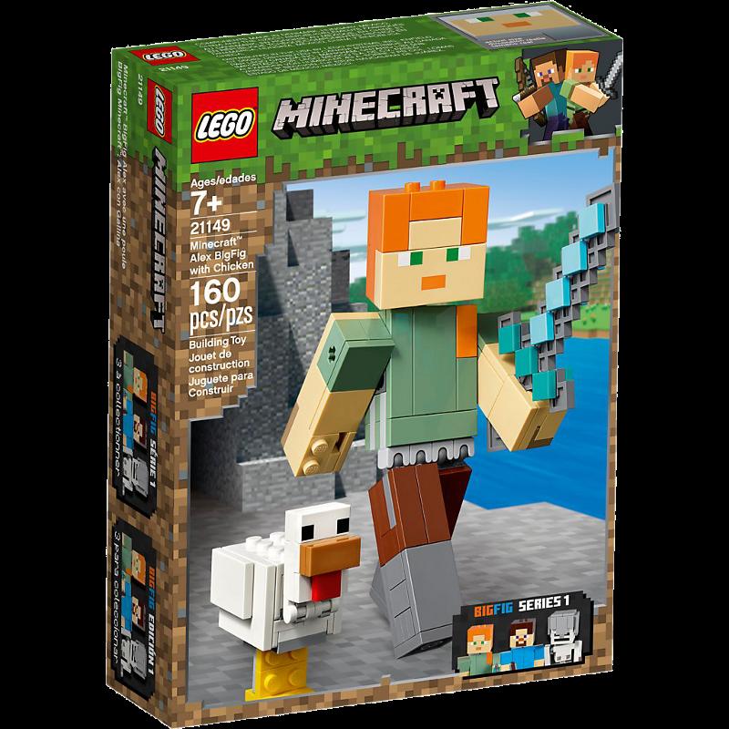 LEGO® Minecraft 21149 - BigFig Alex mit Huhn