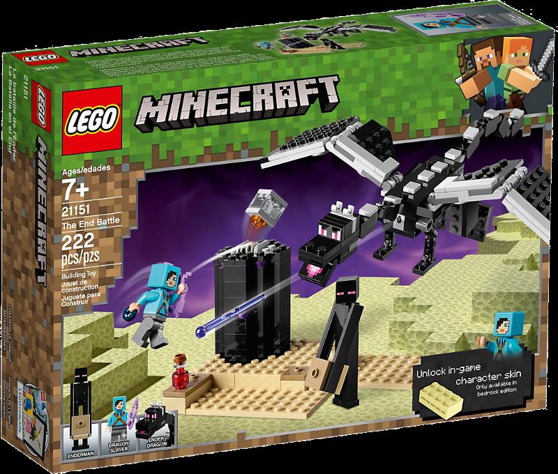 LEGO® Minecraft 21151 - Das letzte Gefecht