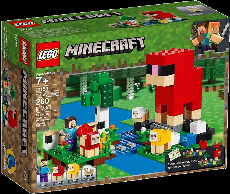 LEGO® Minecraft 21153 - Die Schaffarm