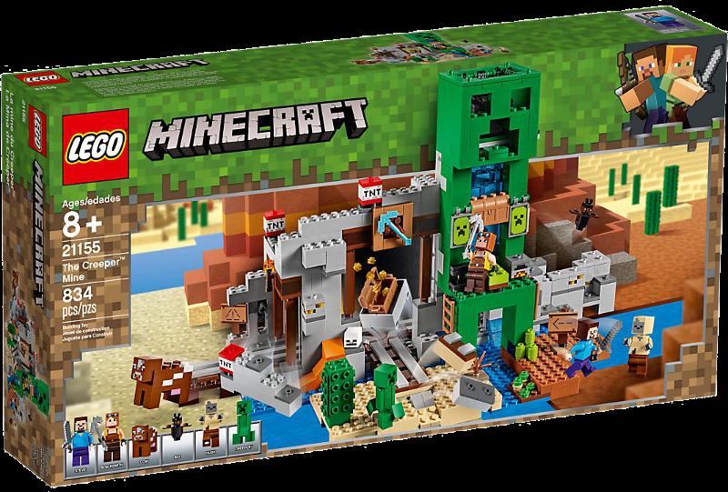 LEGO® Minecraft 21155 - Die Creeper™ Mine