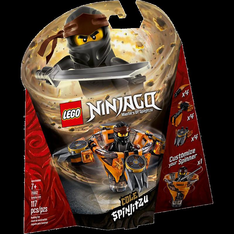 LEGO® NINJAGO® 70662 - Spinjitzu Cole