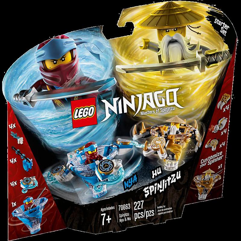 LEGO® NINJAGO® 70663 - Spinjitzu Nya & Wu