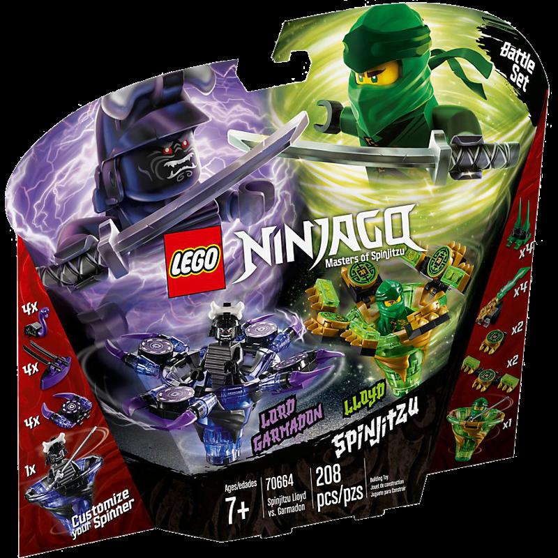 LEGO® NINJAGO® 70664 - Spinjitzu Lloyd vs. Garmadon