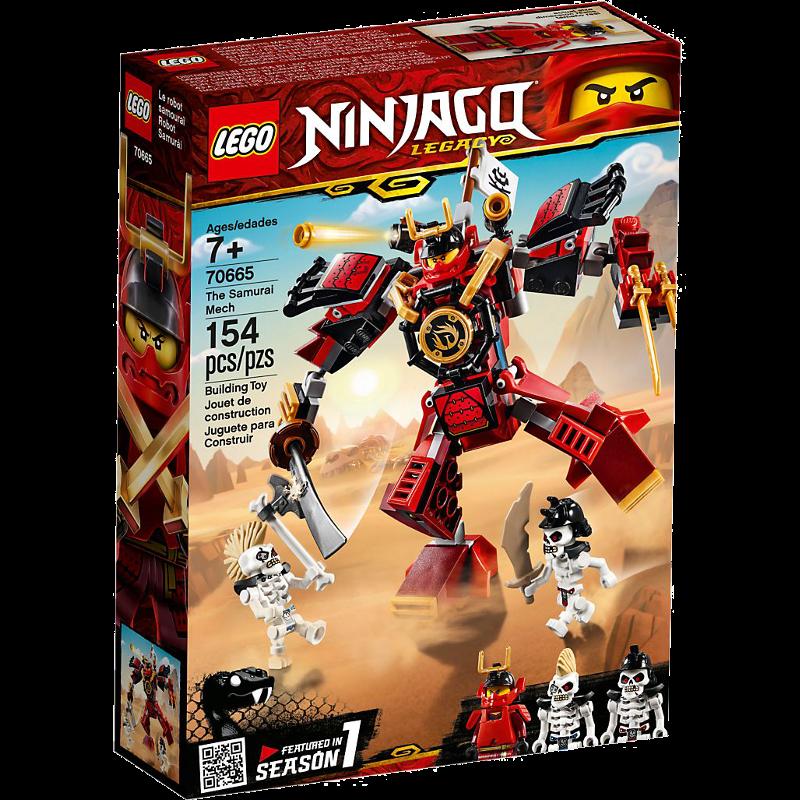 LEGO® NINJAGO® 70665 - Samurai-Roboter