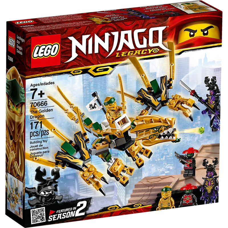 LEGO® NINJAGO® 70666 - Goldener Drache