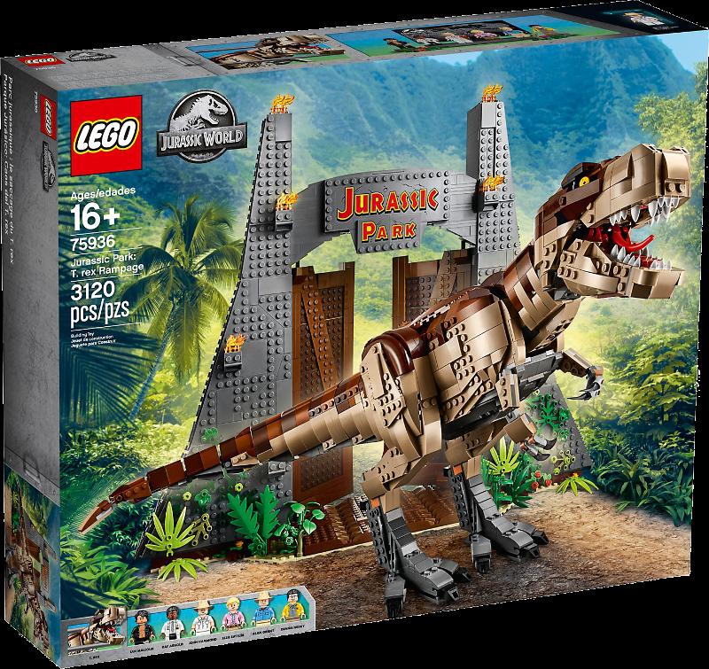 LEGO® Jurassic World 75936 - Jurassic Park: T. Rex' Verwüstung