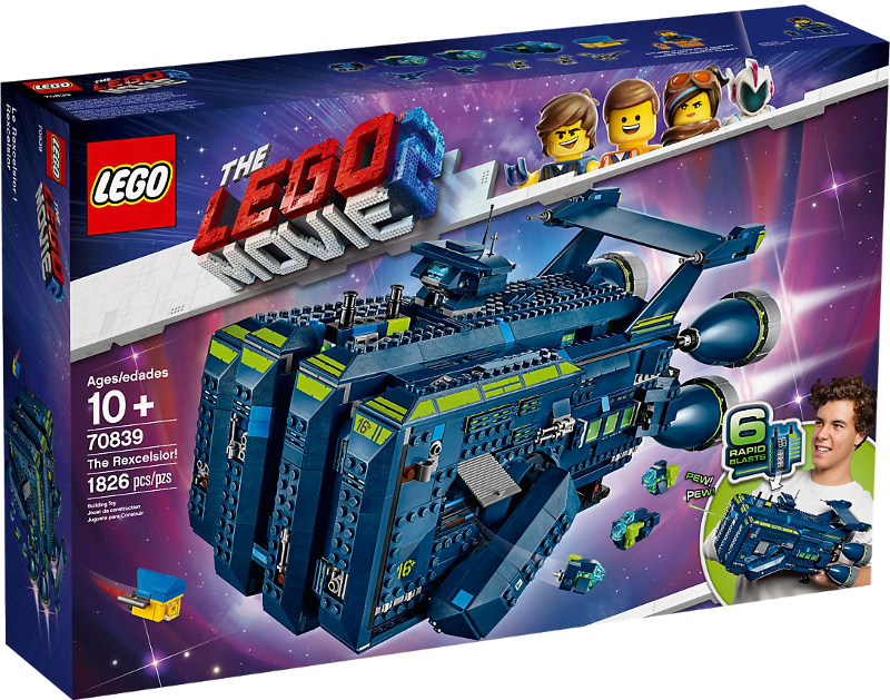 LEGO® Movie 2 70839 - Die Rexcelsior!
