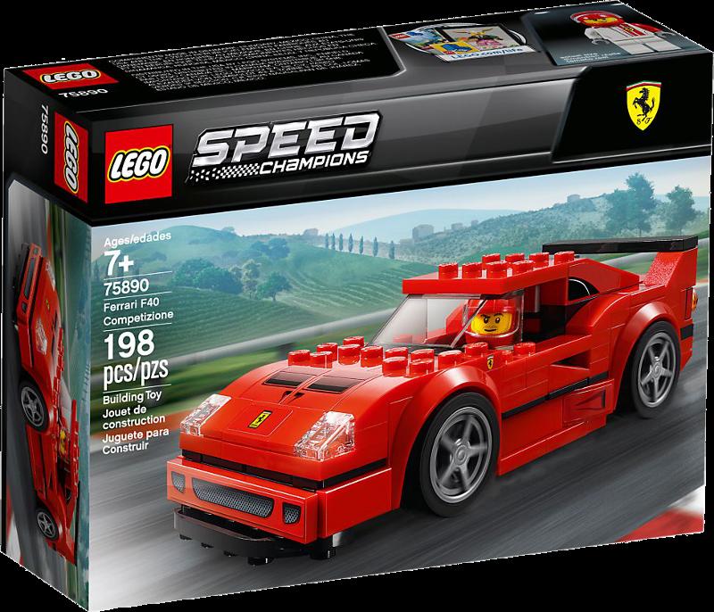 LEGO® Speed Champions 75890 - Ferrari F40 Competizione