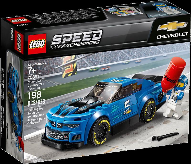 LEGO® Speed Champions 75891 - Rennwagen Chevrolet Camaro ZL1