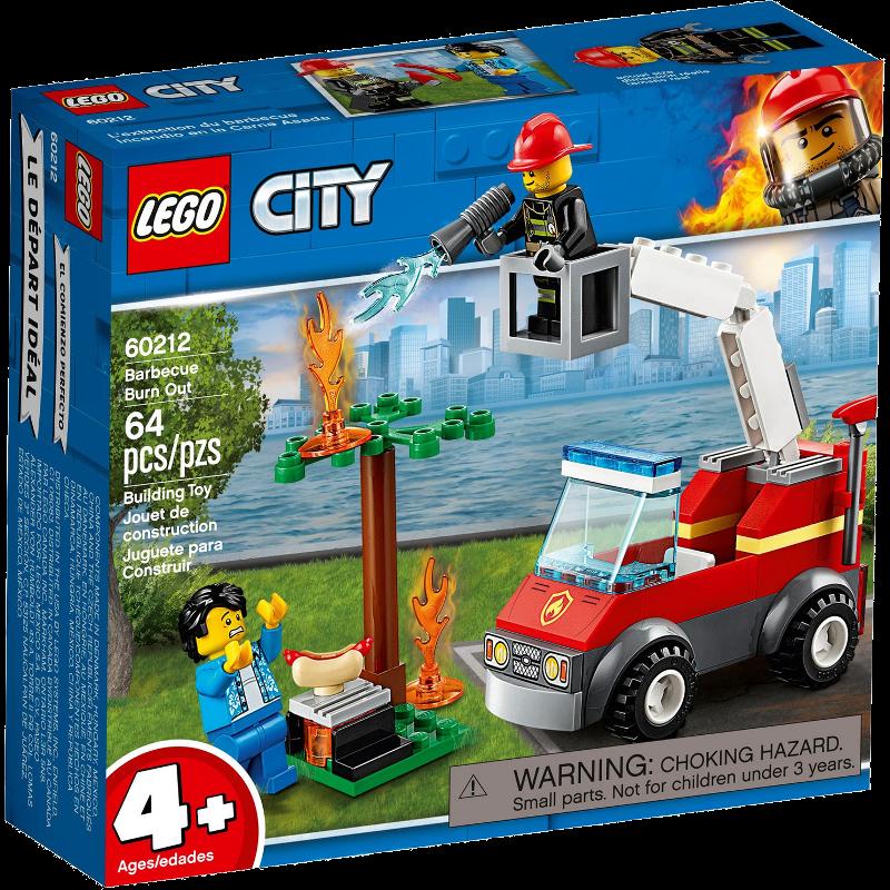 LEGO® City 60212 - Feuerwehr beim Grillfest