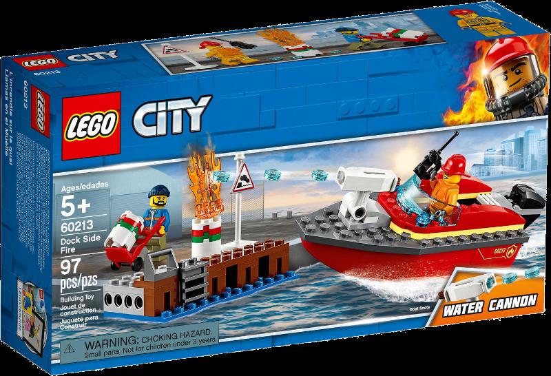 LEGO® City 60213 - Feuerwehr am Hafen