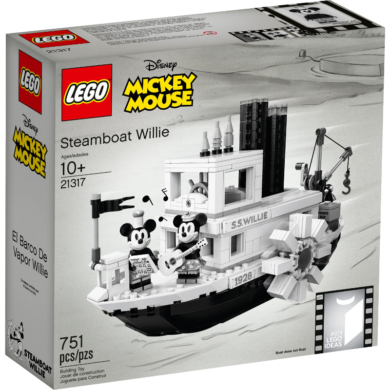 LEGO® Ideas 21317 - Steamboat Willie