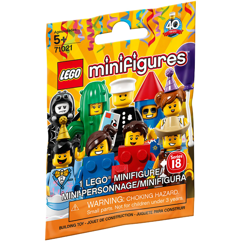 LEGO® Minifigures Serie 18 Party 71021 - Minifigur in Beutel/Tüte