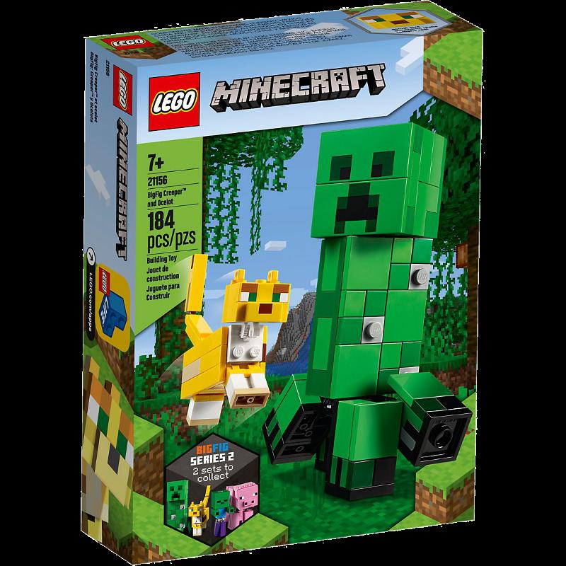 LEGO® Minecraft 21156 - BigFig Creeper™ und Ozelot