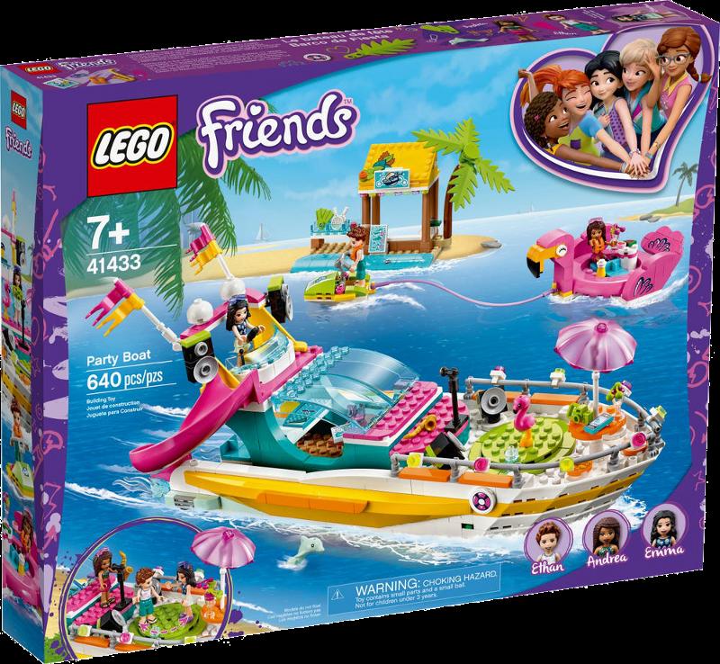 LEGO® Friends 41433 - Partyboot von Heartlake City