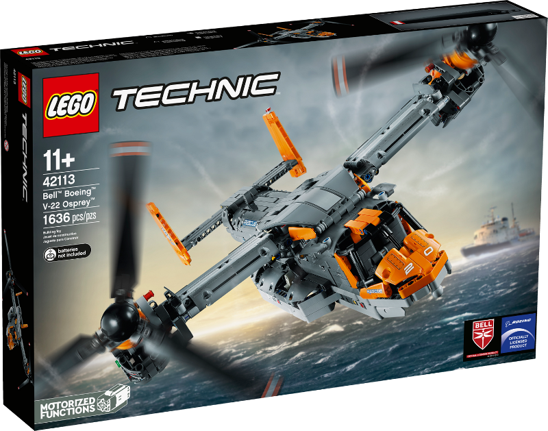 LEGO® Technic 42113 - Bell™ Boeing™ V-22 Osprey™