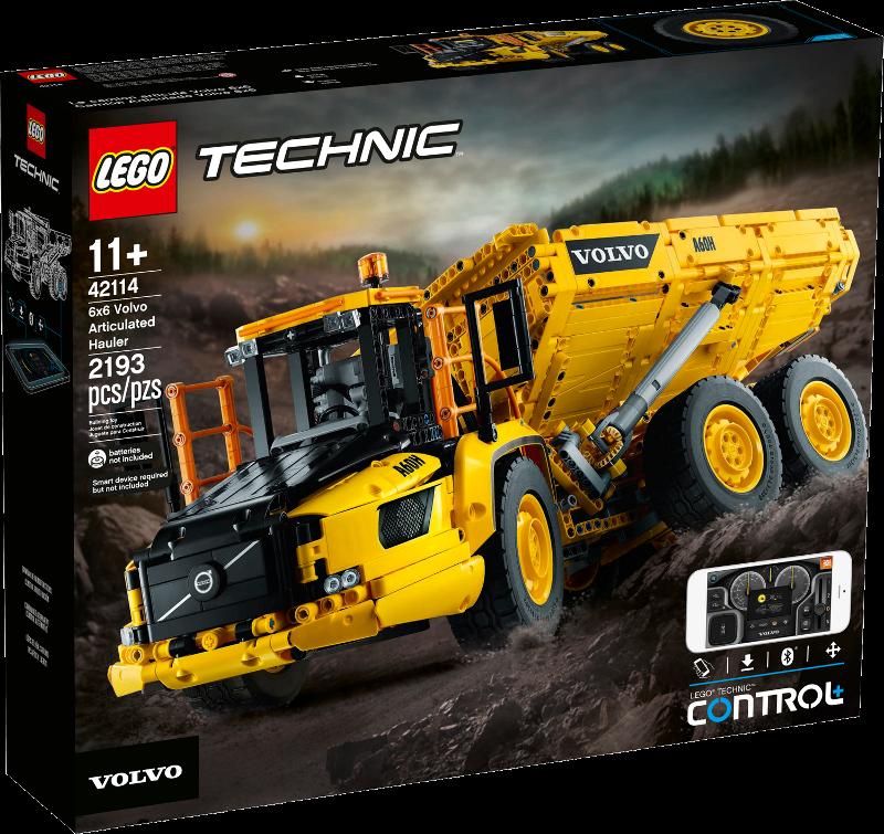 LEGO® Technic 42114 - Knickgelenkter Volvo-Dumper (6x6)