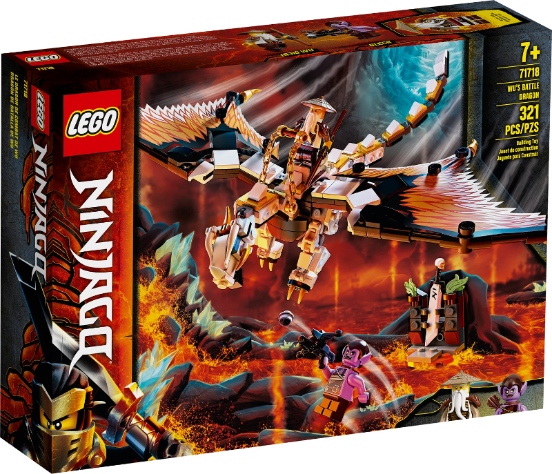 LEGO® NINJAGO® 71718 - Wus gefährlicher Drache