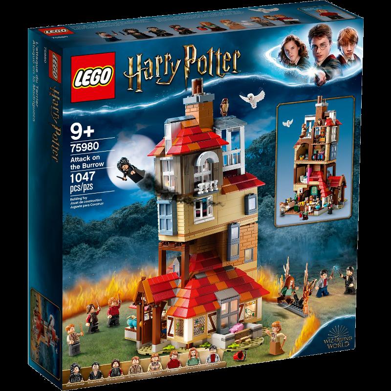 LEGO® Harry Potter™ 75980 - Angriff auf den Fuchsbau