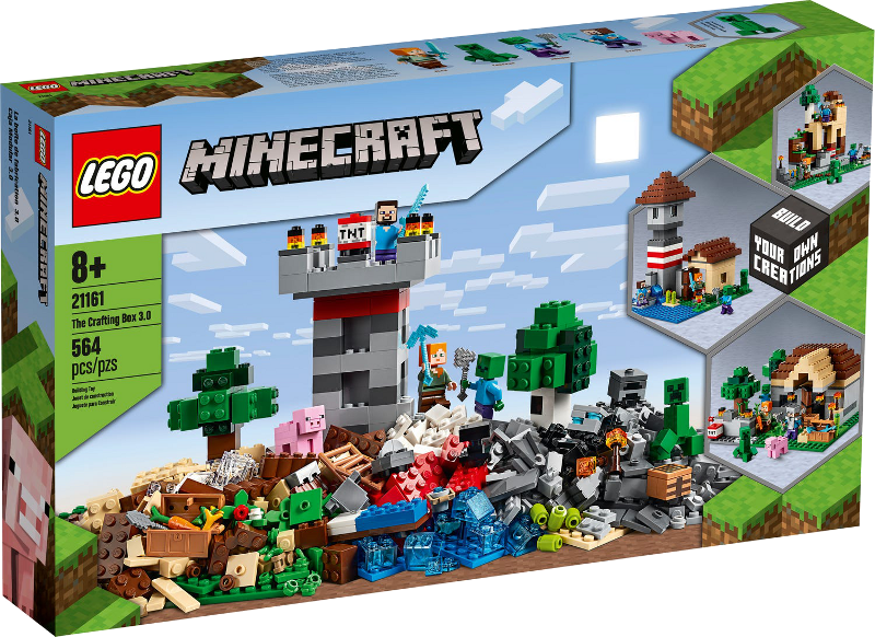 LEGO® Minecraft 21161 - Die Crafting-Box 3.0