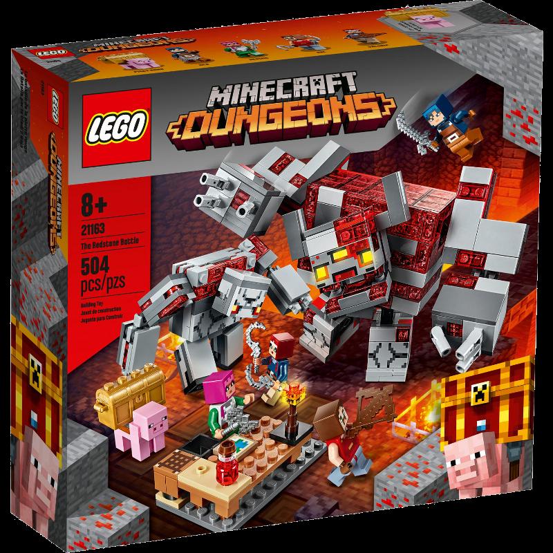 LEGO® Minecraft 21163 - Das Redstone-Kräftemessen