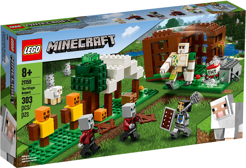 LEGO® Minecraft 21159 - Der Plünderer-Außenposten