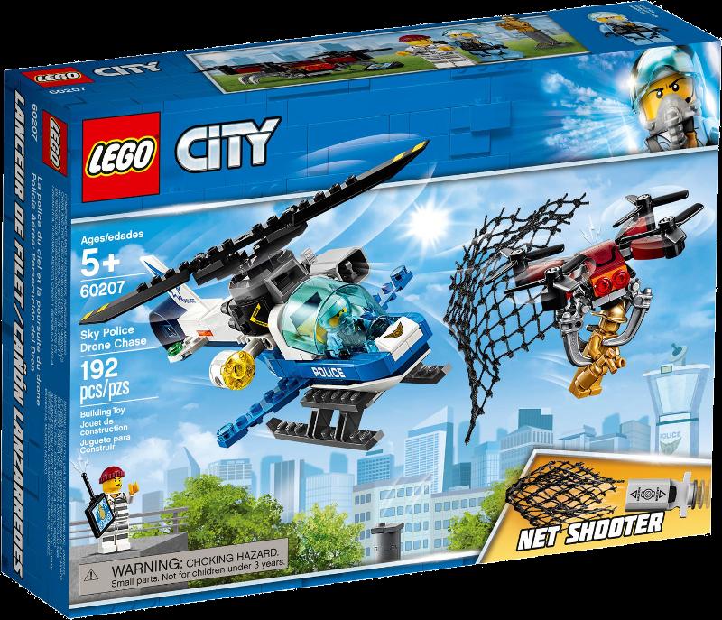 LEGO® City 60207 - Polizei Drohnenjagd