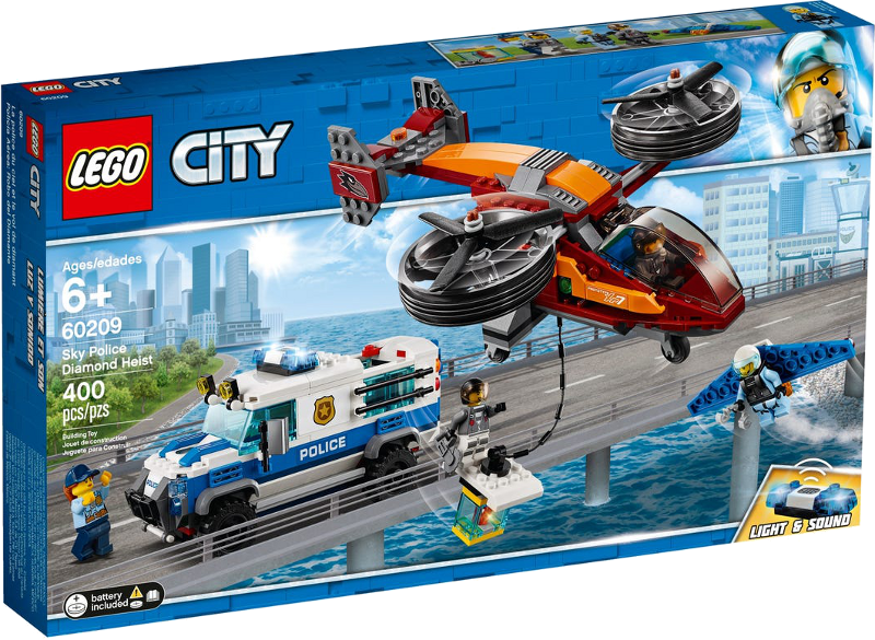 LEGO® City 60209 - Polizei Diamantenraub