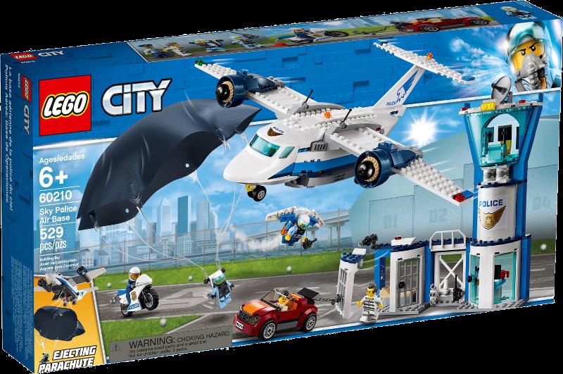 LEGO® City 60210 - Polizei Fliegerstützpunkt