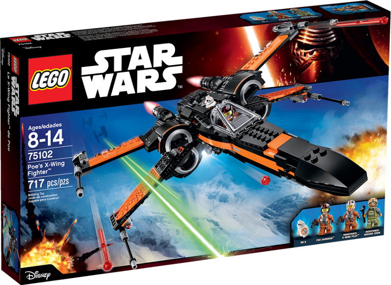 LEGO® Star Wars 75102 - Poe's X-Wing Fighter™