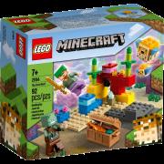 LEGO® Minecraft 21164 - Das Korallenriff