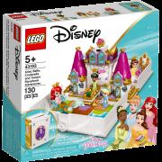 LEGO® Disney Princess 43193 - Märchenbuch Abenteuer mit Arielle, Belle, Cinderella und Tiana