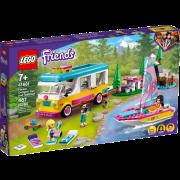 LEGO® Friends 41681 - Wohnmobil- und Segelbootausflug