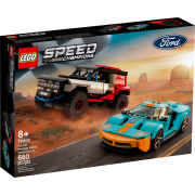 LEGO® Speed Champions 76905 - Ford GT Heritage Edition und Bronco R