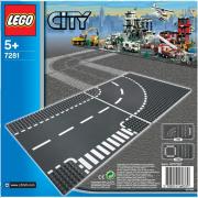 LEGO® City 7281 - T-Kreuzung und Kurve