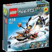 LEGO® Agents 8631 - Mission 1: Verfolgungsjagd