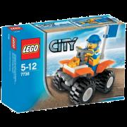 LEGO® City 7736 - Quad-Bike der Küstenwache