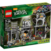 LEGO® Teenage Mutant Ninja Turtles 79117 - Angriff auf das Turtle-Versteck