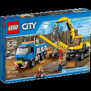 LEGO® City 60075 - Bagger und Transportwagen