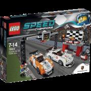 LEGO® Speed Champions 75912 - Porsche 911 GT Ziellinie