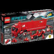 LEGO® Speed Champions 75913 - F14 T und Scuderia Ferrari Truck
