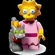 LEGO® Minifigures Simpsons Serie 2 71009-03 - Lisa mit Snowball II