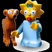 LEGO® Minifigures Simpsons Serie 2 71009-04 - Maggie mit Weihnachtskobold