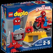 LEGO® DUPLO® 10607 - Spider-Man - Motorrad-Werkstatt