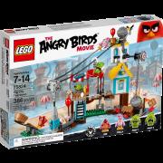 Lego Angry Birds 75824 - Pig City Teardown